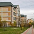 Stock Photo: Settlement on outskirts of Moscow