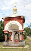 Valaamskiy friary. Chapel — Stock Photo