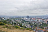 City landscape, view from a mountain — Stock Photo