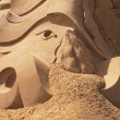 Forms from the sand — Stock Photo