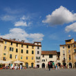 Architecture of Lucca, Tuscany, Italy — Stock Photo