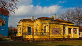 Panorama of the Art Nouveau house — Stock Photo