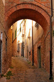 Architecture of Siena, Tuscany, Italy — Stock Photo