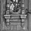 Detail of old doors — Stock Photo