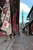 Sarajevo old town — Stock Photo