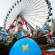 Christmas Carousel, Lille - Stock Photo