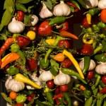 plantaardige mix — Stockfoto