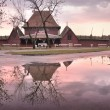 Palic architecture reflection — Stok fotoğraf