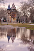 Palic architecture reflection — Stock Photo