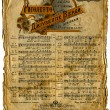 Old Sheet Music. — Stock Photo