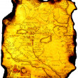 Map of ancient state. — Foto Stock #2039614