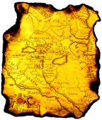 Mapa do estado antigo. — Foto Stock