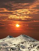 La montaña elbrus. — Foto de Stock