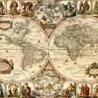 Vintage map. — Stock Photo #2077594