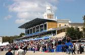 Hippodrome in city Pyatigorsk. — Stock Photo