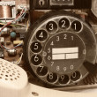 Old telephone. — Stockfoto