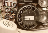 Old telephone. — Stock Photo