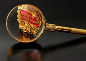 Magnifying Glass. — Stock Photo