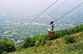 View on mountain Mashuk. — Stock Photo