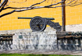 Ancient Cannon. — Stock Photo