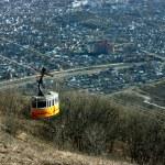 Mountain Cable Car. — Stock Photo #2490115
