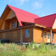 Traditional russirural house — Stock Photo #1808386