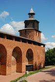 Tower of Nizhny Novgorod kremlin — Stock Photo