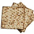 Jewish passover matzah - Foto de Stock  