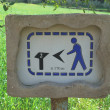 Stock Photo: Guide sign