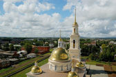 Cathedral with bell tower — Stock Photo