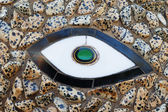 Stone and ceramic mosaic — Stock Photo