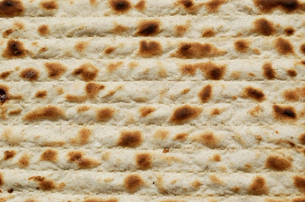 Matzah Jewish passover matzah - stock