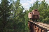 Holocaust train — Stock Photo