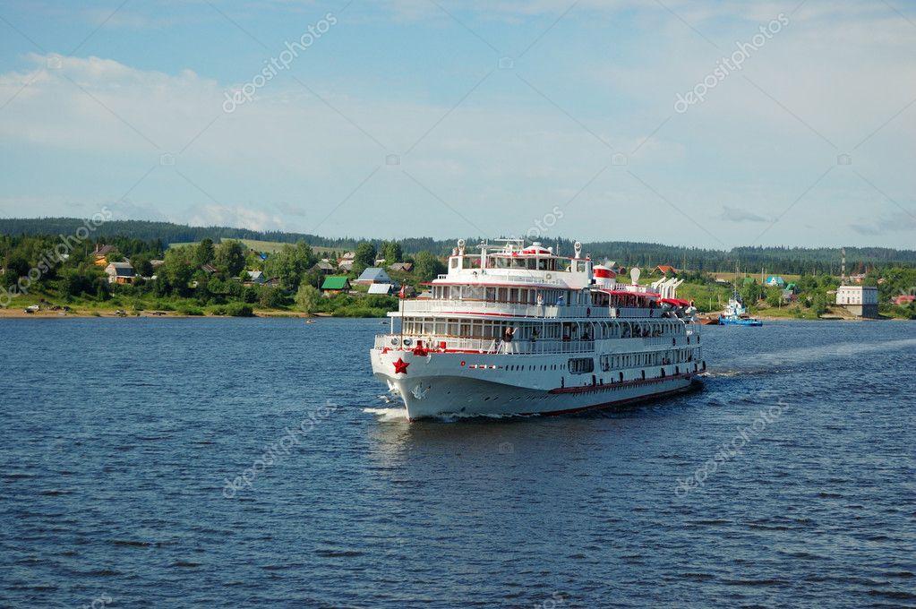 Фотообои White river cruise boat