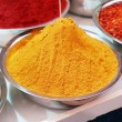 Colorful spices in bowl — Stock Photo