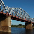 Stock Photo: Railway bridge