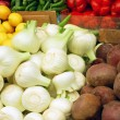 Close up of vegetables on market — Stock Photo