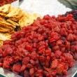 Stock Photo: Close up of dried strawberries