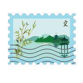 Znaczki pocztowe — Wektor stockowy