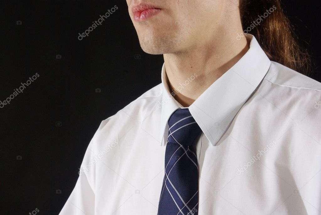 man in tie and collared shirt stock photo lintra 1680856