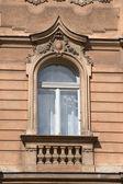 Prague windows — Stock Photo