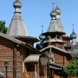 Wooden Russian Orthodox church — Stock Photo #1681690