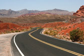 Road in Valley of Fire Nevada — Stock Photo