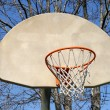 Royalty-Free Stock Photo: Outdoor basketball hoop
