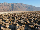 Devil's Golf Course in Death Valley — Stock Photo
