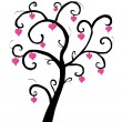 Royalty-Free Stock Vector Image: Love tree