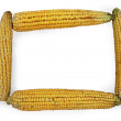 Stock Photo: Corn frame