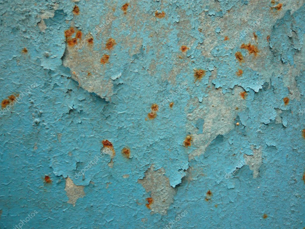 Paint and rust texture  Stock Photo #2245173