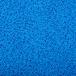 Fluffy blue towel background - Stock Photo