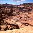 Magnificent view of Petra, Jordan — Stock Photo